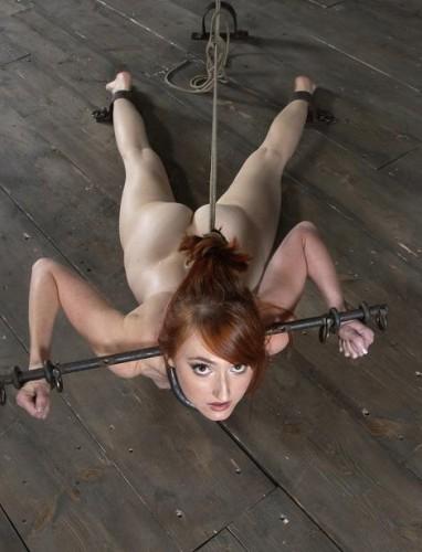 Fiery bitch in BDSM