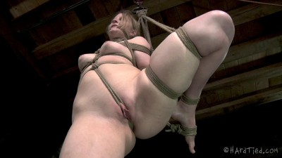 Mira Raine sat on my table and told me that her favorite thing in was challenging rope bondage