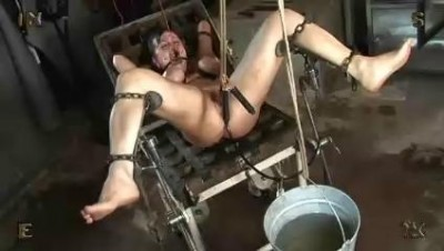 Gay male electrical bondage first time 3