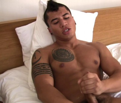 Dante Escobar Strokes His Meat