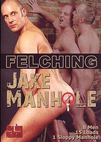 Dirty Dawg - Felching Jake Manhole cover