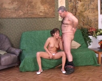 Young girl and her mature lover
