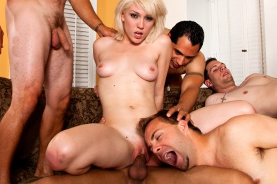 The World's Biggest Forced-Bi Gangbang cover
