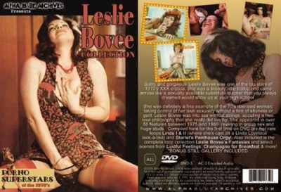 Porno Superstars of the 1970's Leslie Bovee Collection cover