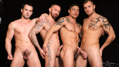 Julio Rey, Stephan Raw, Alex Stan and Martin Porter