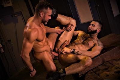 Beards, Bulges & Ballsacks!, Scene 3