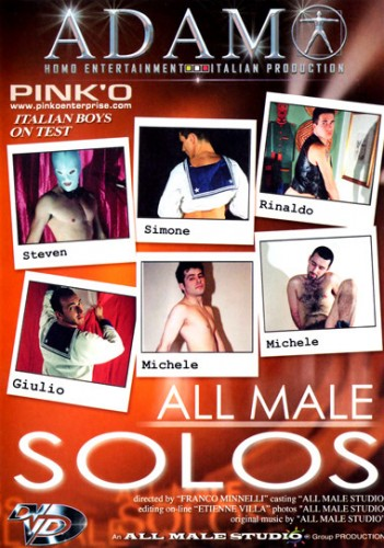 04584-All male solos [All Male Studio] cover