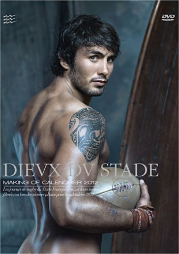 Dieux du Stade - Making of Calendrier 2012 cover