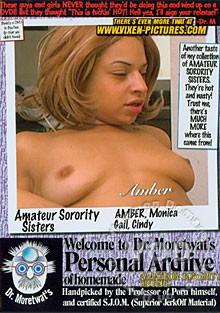 Amateur Sorority Sisters vol1 cover