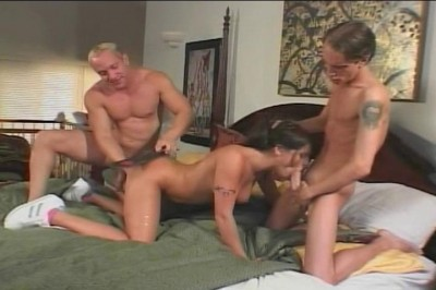 Ariana Jollee Throws Herself Into 3some cover