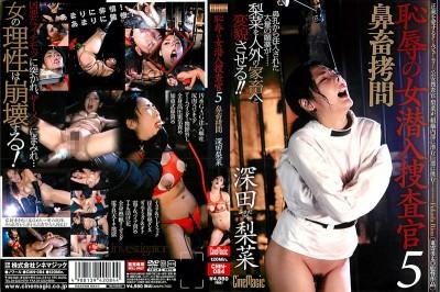 Rina Fukada / Rina Fukada five questions 畜拷 nose undercover woman !!!