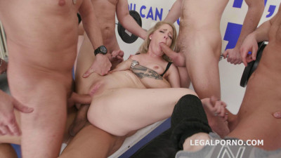 Seven on one Dap Gangbang Lisey Sweet Balls Deep Anal Dap Gapes Tp (2018) cover