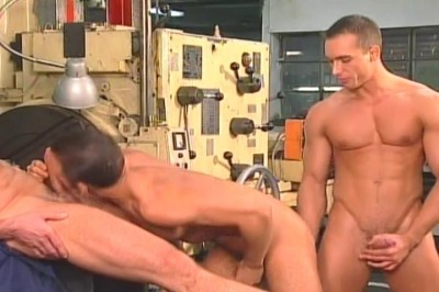 [Pacific Sun Entertainment] Horny Machine Men Have Deep Anal Sex At Work cover