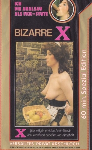 Bizarre X - I Analsau as the Fick-Mare - Perverted private asshole cover