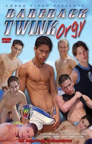 Bareback Twink Orgy - Aaron Phelps, Armon Maderas, Austin Sterling