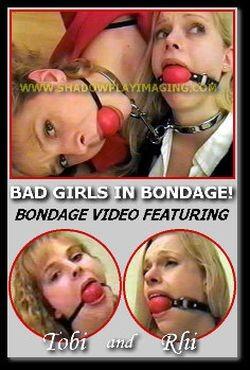 Bad Girls In Bondage! cover
