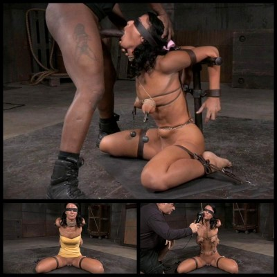 First Blowjob In Bondage (29 Apr 2015) Sexually Broken