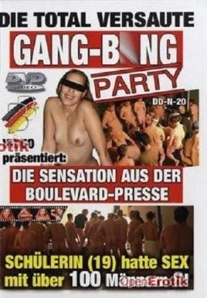 Natascha 19 Die Total Versaute Gang Bang Party cover