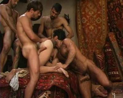 Gorgeous arab men bareback