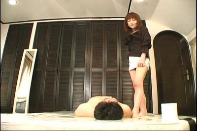 [Gut Jap] Gammen Kijou Onanie 02 Scene #14 cover