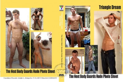 The Next Body Guard's Nude Photo Shoot cover