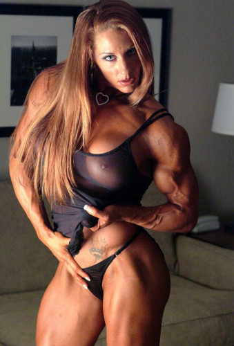 Top of the best muscular women of the planet