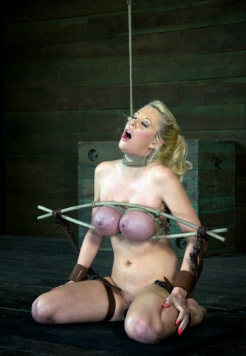 Courtney Taylor and her Huge tits endure a of rough deep throa