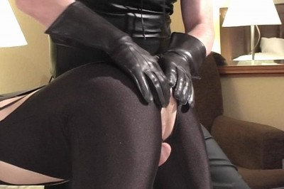 Spandex Spanking And Suckking Scene #5 cover