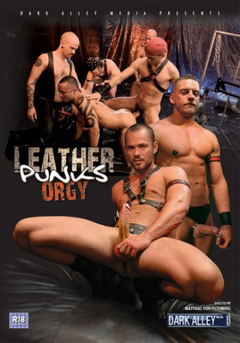 Orgy Leather Punks [ Dark Alley Media ] cover