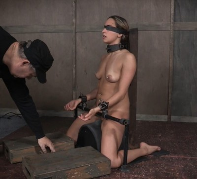 Julia Waters first ever porn shoot. Brutal throat fuckings, Anal fucking, with amazing bondage