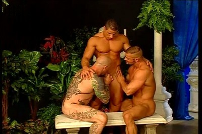 Four Males Having Great Gay Sex In Open