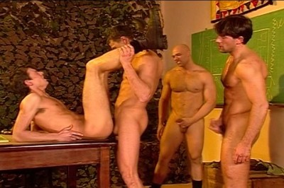 [Pacific Sun Entertainment] These Military Maneuvers Involve Plenty Of Group Gay Action