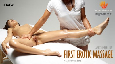 Hegre-Art - First Erotic Massage cover