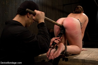Made to suffer, made to cum - restrictive bondage equals squirting orgasm cover