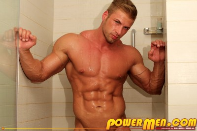 PowerMen-Kane Griffin Blond Muscle