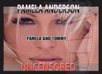 Pamela Anderson - Uncensored cover