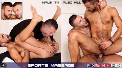 Sports Massage (Malik TN, Alec Hill)