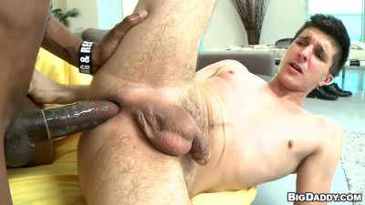 White guy desperate for black dick