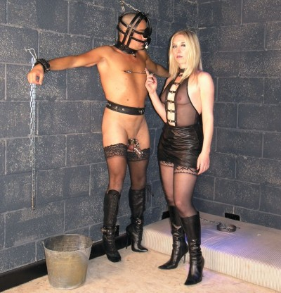 Mistress Sidonia Real-Time Footage Slavery - Day Vol. 1