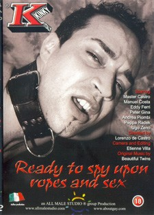 [All Male Studio] Ready to spy upon ropes and sex Scene #2 cover