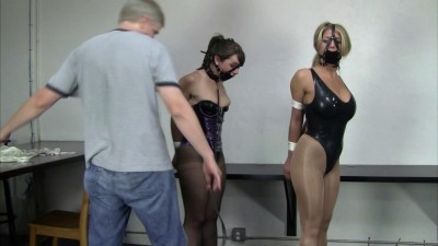 Carissa Montgomery and Elizabeth Andrews - Latexed Follow the Leader