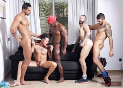 Private Party Episode 1 - (Angel Garcia, Ehrik Ortega, Lucas Fox, Max Toro,Tony Moreno)