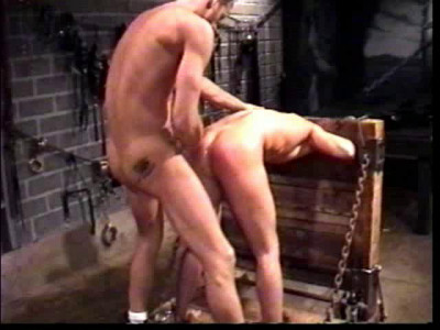 Slave boy Michael Knight experiences boy gay boy bondage