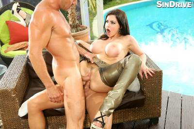 Aletta Ocean - The Big Titty Queen Is Back For A Full Program DP Attack!