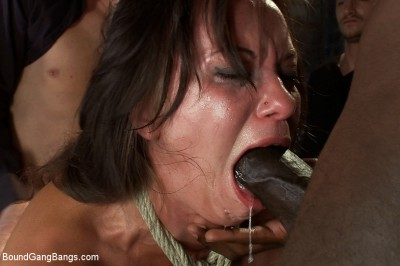 Hot Wife is Kidnapped, Bound, Fucked, and Finished off with Anal Creampie cover