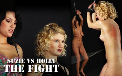 Suzie vs Holly - The Fight cover