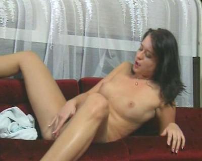 Small tits, big butt