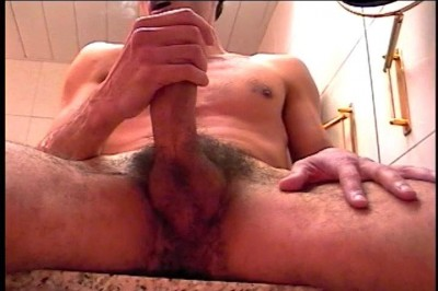 [Pacific Sun Entertainment] Gay Dude Pumps His Dick In Front Of The Mirror cover