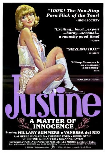 Justine A Matter of Innocence (1980) - Hillary Summers, Vanessa del Rio cover