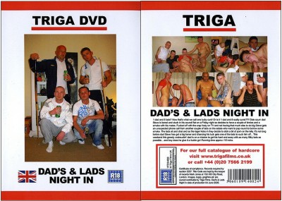 Dad's & Lads Night In (2009) DVDRip cover